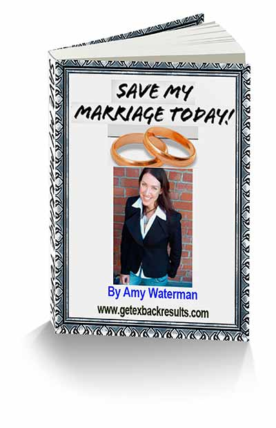 Save My Marriage Today By Amy Waterman